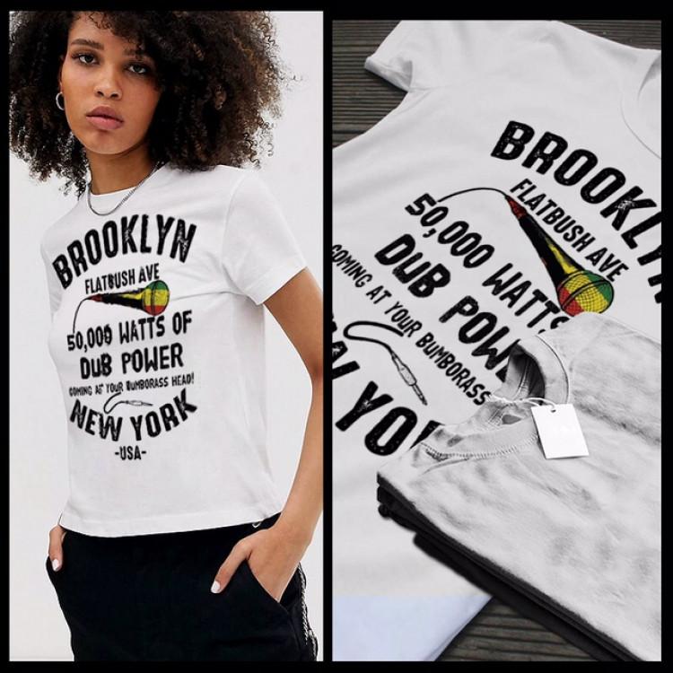 Brooklyn NY Flatbush Ave Reggae 50,000 watts of dubpower coming at your bumborass head