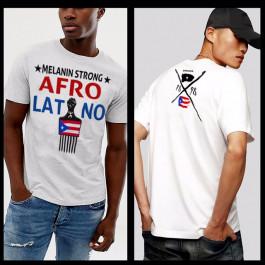 Puerto Rican Afro Pick Melanin Strong