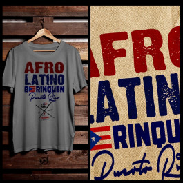 Afro Latino Borinquen