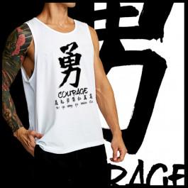Japanese Kanji Courage
