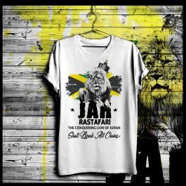 Jah Rastafari Crowned Lion