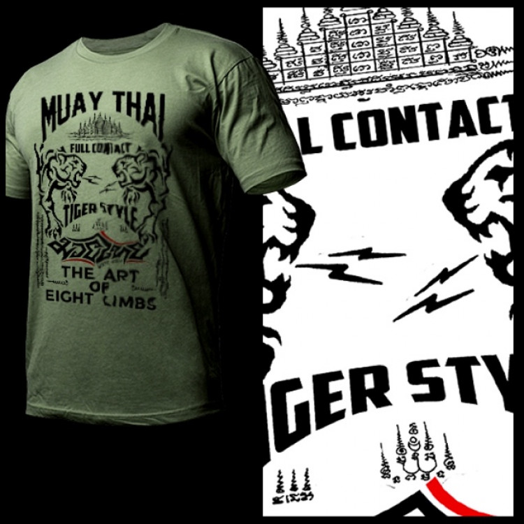 Muay Thai Yantra Tiger Roar