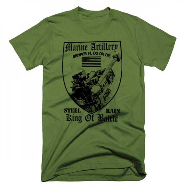 USMC Field Artillery Cannoneer T-Shirt