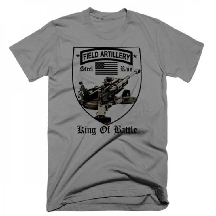 US Army Field Artillery Steel Rain T-Shirt III