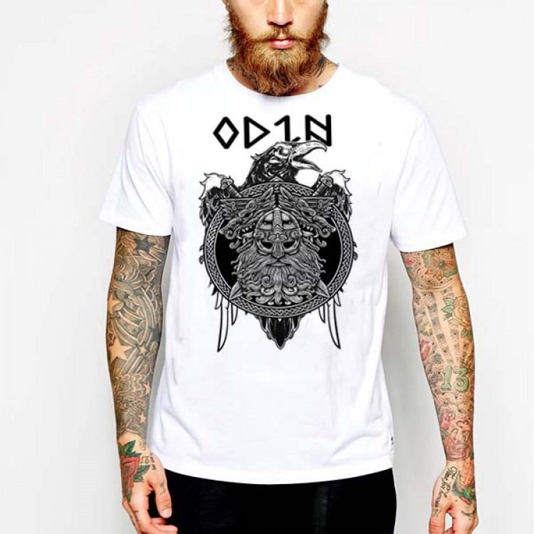 Viking Odin's Norse Raven