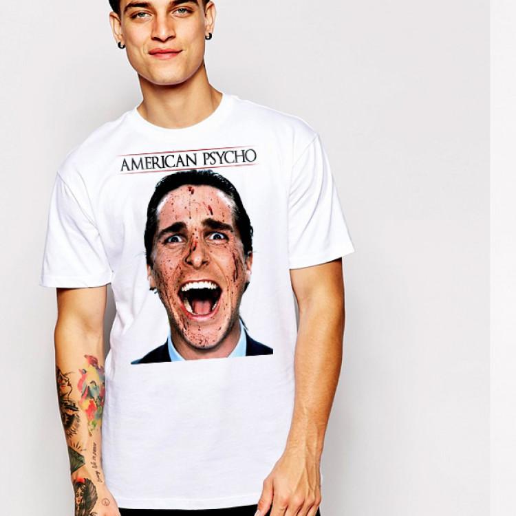 American Psycho t-shirt Christian Bale serial killer Horror movie