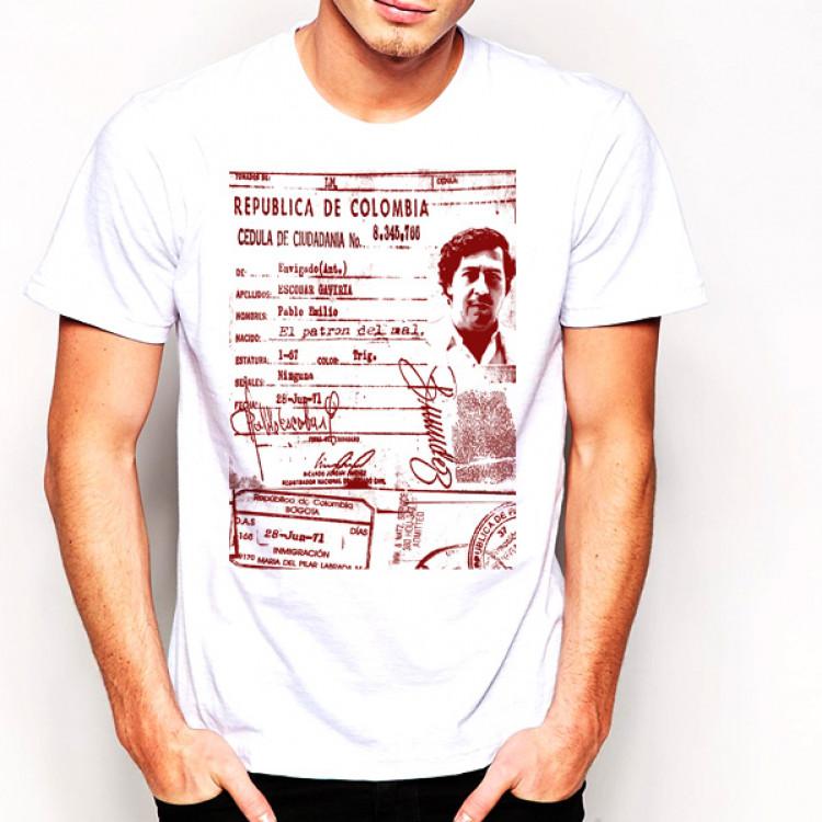 Pablo Escobar Medellin Cartel Colombia T-shirt El Patron