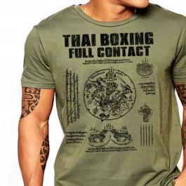 Thai Boxing Yantra T-Shirt
