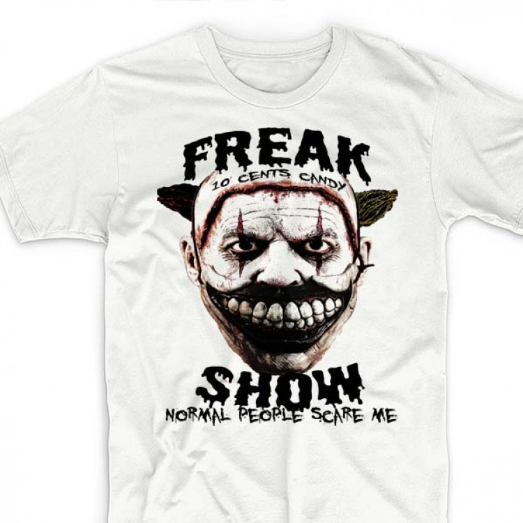 Scary Clown T-Shirt Normal People Scare Me