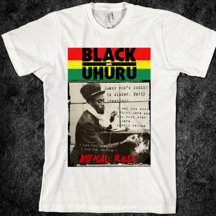 Black uhuru sinsemilla reggae t-shirt