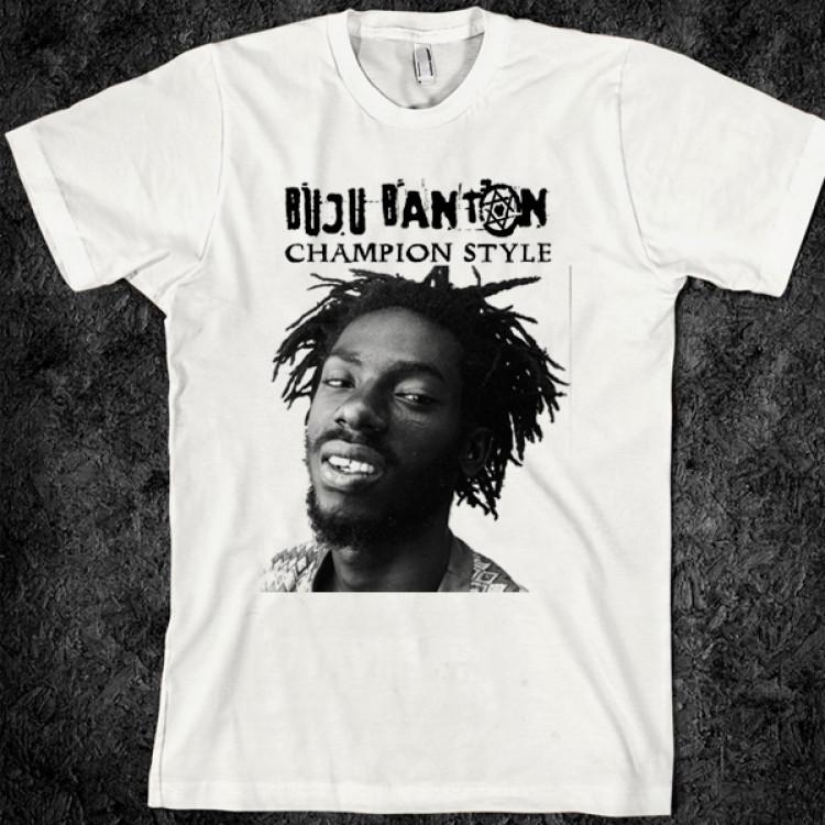 Buju banton reggae legend t shirt