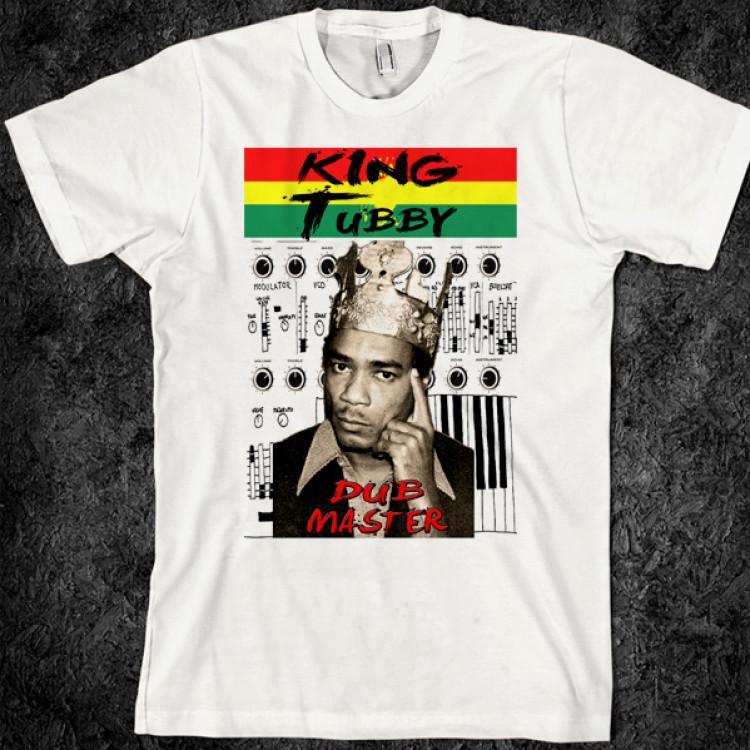 King tubby jamaican reggae dubmaster retro t-shirt