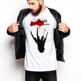 Freddy kruegar nightmare on elm street gloves t shirt