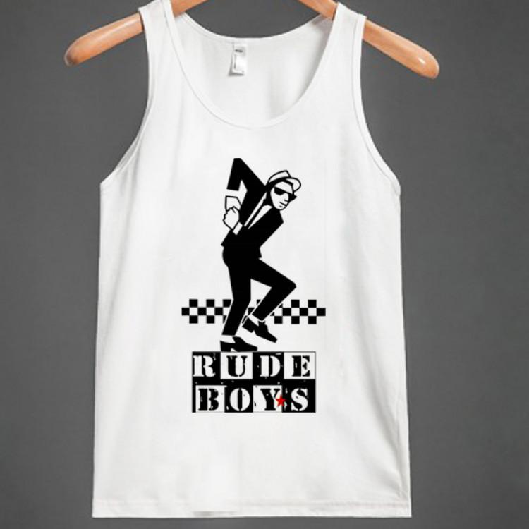 Rude boy skankin reggae dubplate t-shirt