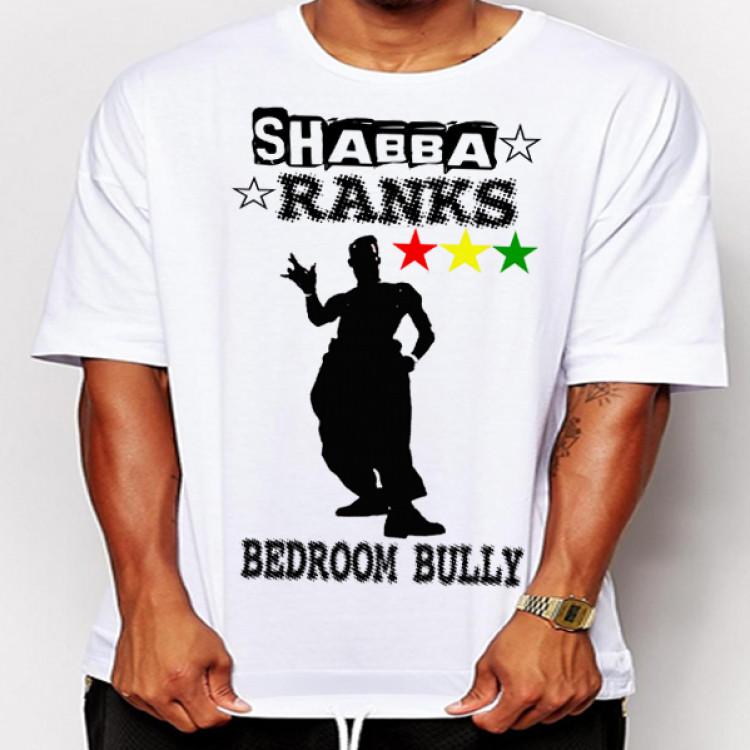 Shabba Ranks bedroom bully reggae t-shirt