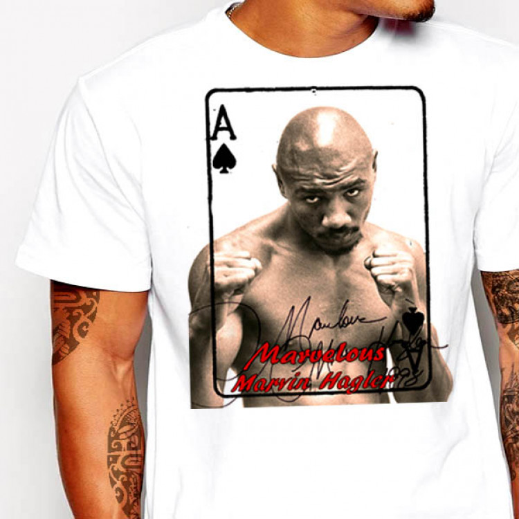 Marvin Hagler T-Shirt middleweight Boxing Legend tee