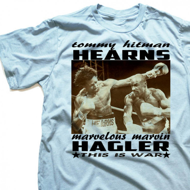 Tommy Hearns Vs Marvin Hagler T-Shirt This Is War boxing tee